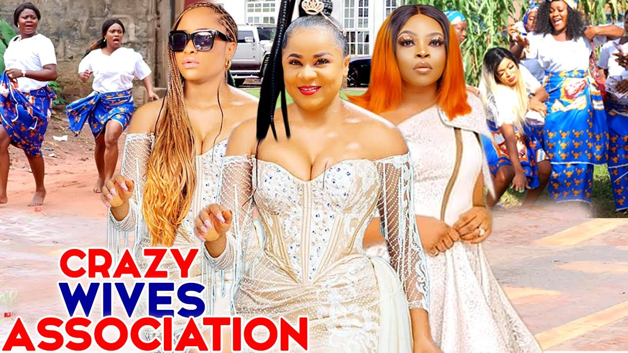 "Download CRAZY WIVES ASSOCIATION 5&6-""NEW MOVIE"" UJU OKOLI/FLASH BOY/GEORGINA IBEH 2021 LATEST NIGERIAN MOVIE"