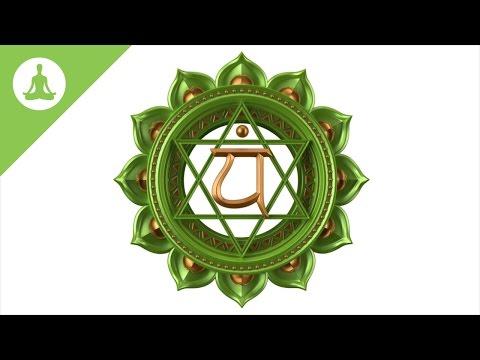 Heart Chakra Meditation Music: Anahata, Healing Music, Love Energy.