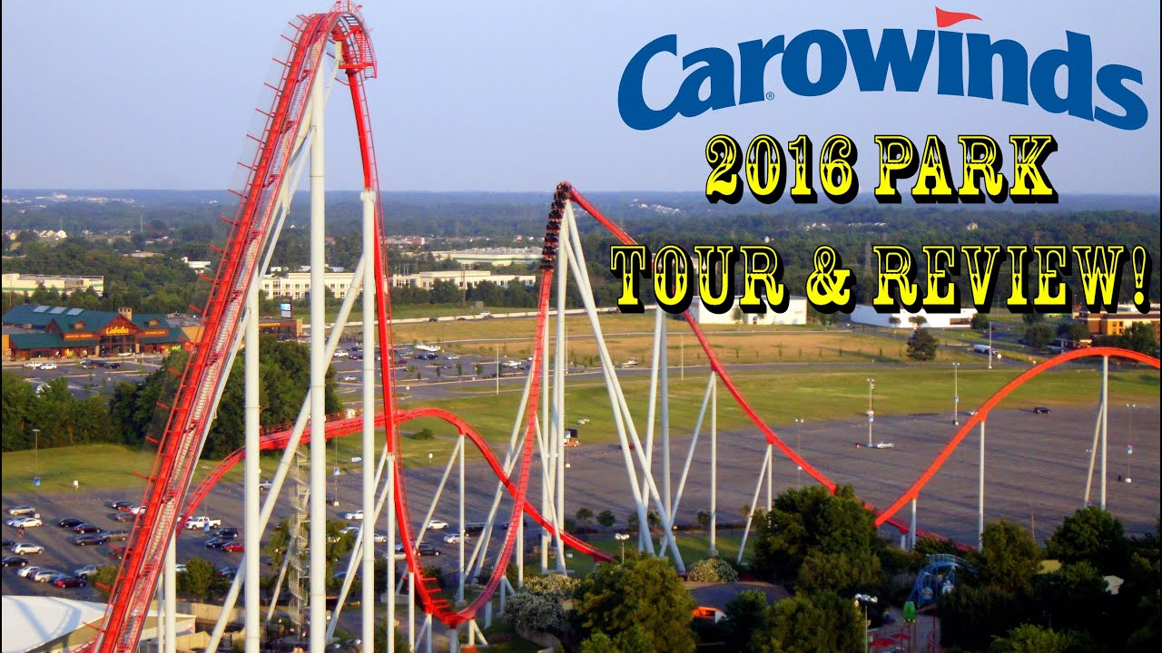 carowinds vs the pavilion amusement parks Carowinds, a 400-acre theme park located on the border of north and south  carolina, is home to more than 60 rides, shows and attractions,.