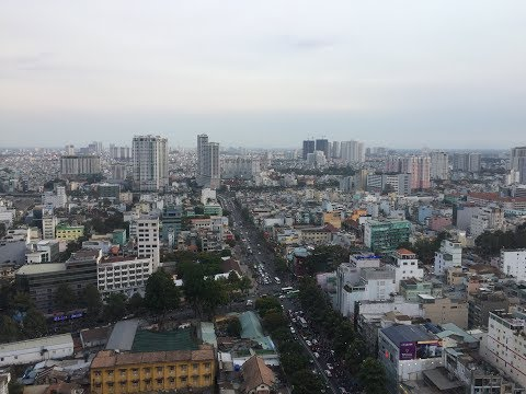 Chill sky bar rooftop view (Ho Chi Minh City)