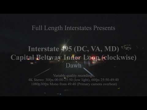 MD VA DC I-495 Capital Beltway Inner Loop