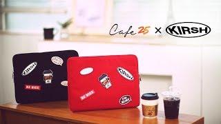 CAFE25 X 키르시 벨크로 클러치