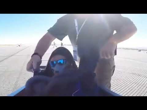 Kalkış Anında Kafasına Kanat çarpan Pilot