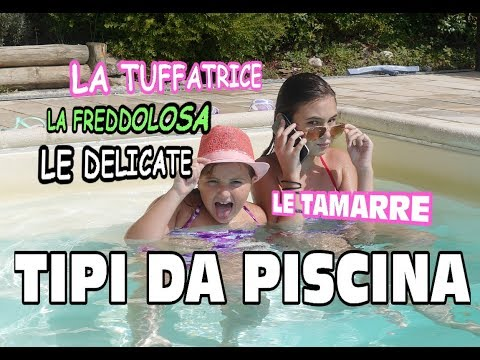 Tipi di persone in Piscina  1  type of people at the pool   Marghe Giulia Kawaii