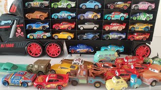 Disney Lightning Mcqueen Cars Collection Review Cars by Fast Line Truck