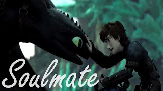 Toothless x Hiccup ღ Soulmate ღ