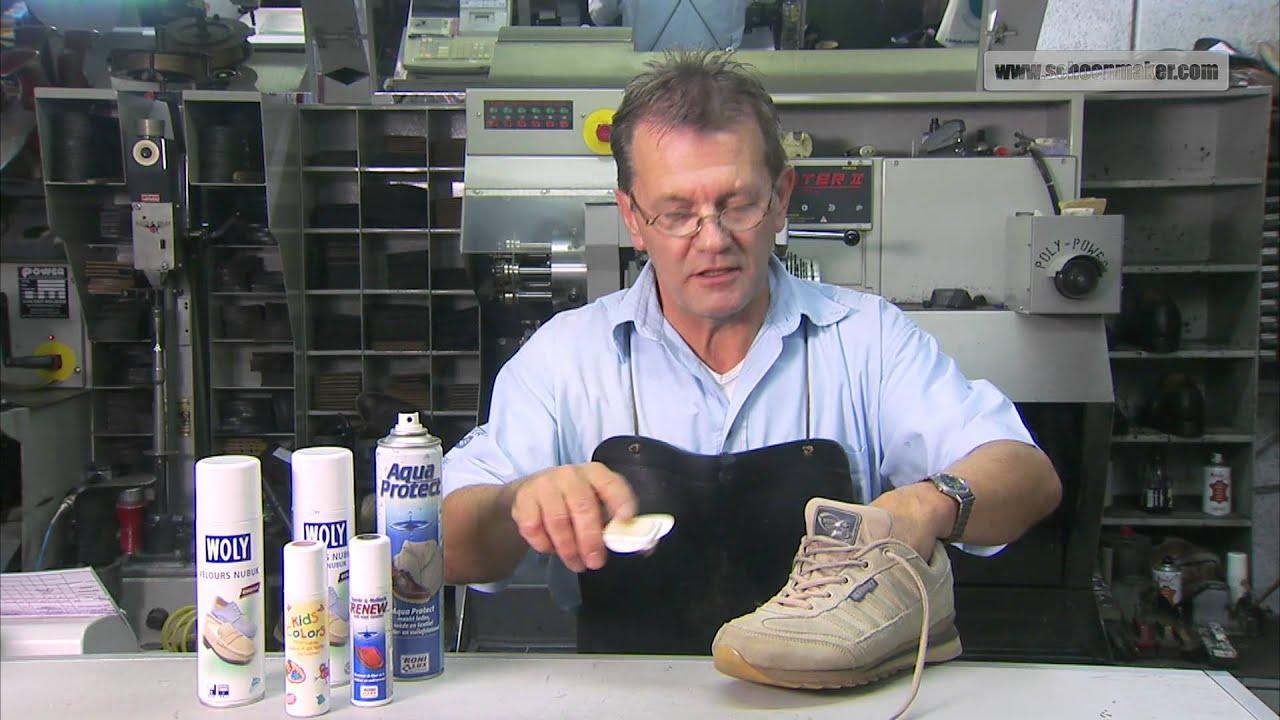 Hoe maak je het beste suède schoenen schoon?
