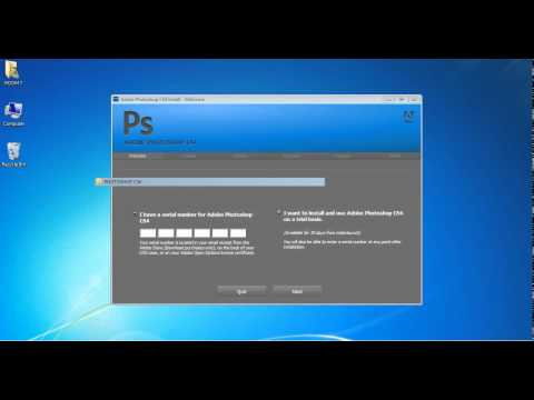 How To Install Photoshop Cs4 in Your PC