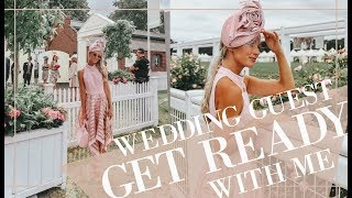 GRWM // Wedding Guest Makeup, Hair & Outfit!  // Fashion Mumblr