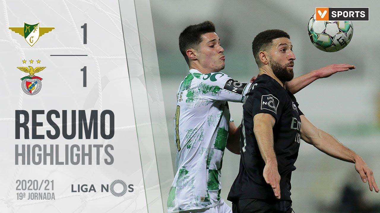 Highlights Resumo Moreirense 1 1 Benfica Liga 20 21 19 Youtube