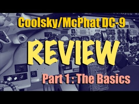 COOLSKY DC-9 FOR FSX - REVIEW