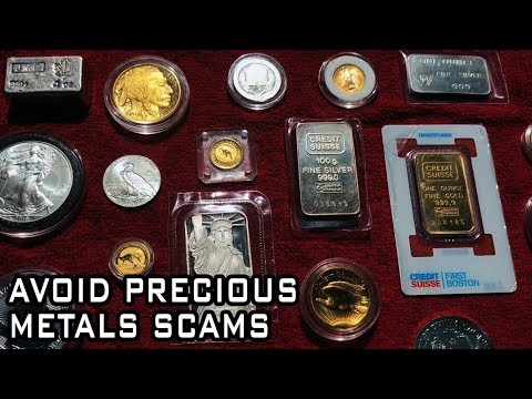Three Steps To Avoid Gold & Silver Scams