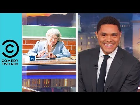 Donald Trump Wants Teachers To Be Locked And Loaded | The Daily Show With Trevor Noah