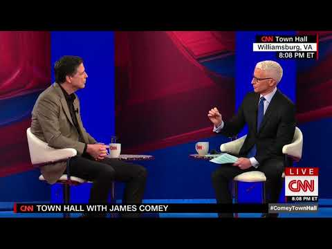 Comey Struggles To Explain To Anderson Cooper Why He Is Not A Leaker