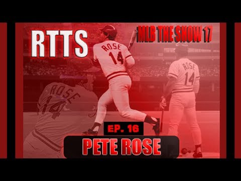 OPENING DAY! Pete Rose RTTS EP. 16 MLB The Show 17