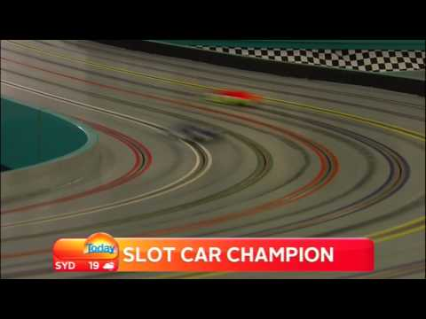 AUSTRALIA'S SLOT CAR WORLD CHAMPION