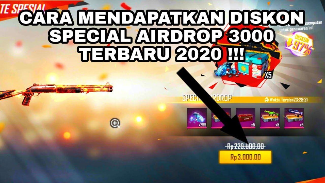 Belanja Cerdas Cara Mendapatkan Diskon Special Airdrop 3000 Free Fire Garena Free Fire Hemat Di Bulan Juli 2020 Jazz Indonesia