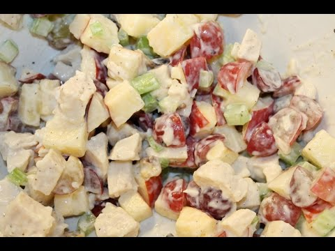 Low Calorie Waldorf Chicken Salad Recipe