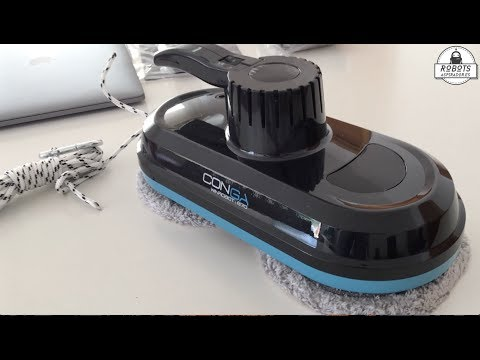 Review del robot limpiacristales Conga WinRobot / Windroid 870 de Cecotec
