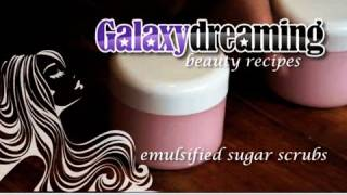 How to make Emulsified Sugar Scrub