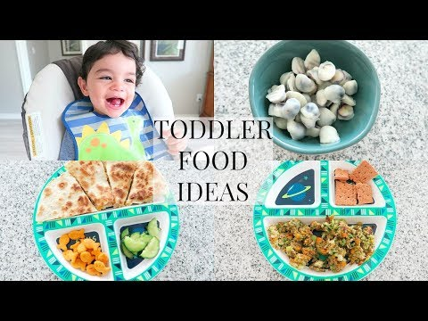 TODDLER FOOD IDEAS 2018