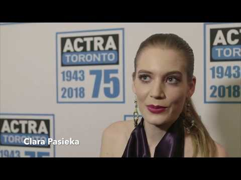 ACTRA Toronto and Canada 150: Clara Pasieka
