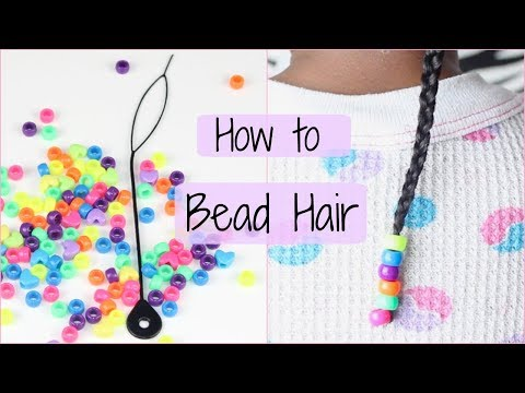 How to add Beads to Hair | DIY
