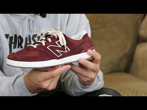 New Balance Logan S 636 Skate Shoes Review – Tactics.com