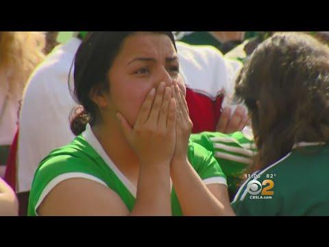 Mexico Fans Heartbroken After Brazil Wins 2-0