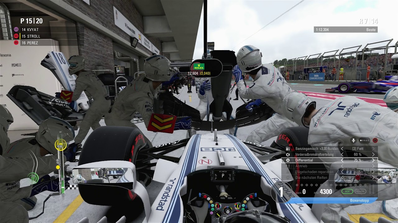 F1 2017 - Austin Short 25% - Stroll [HD] - YouTube