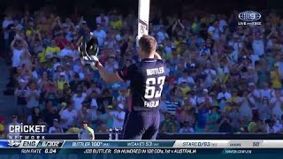Brilliant Buttler punishes Aussies with rapid ton