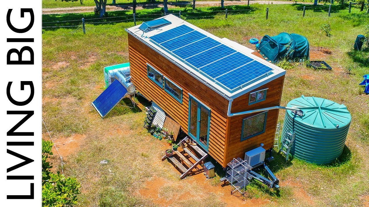 Container Tiny Haus Kaufen Amazing Off The Grid Tiny House Has Absolutely Everything