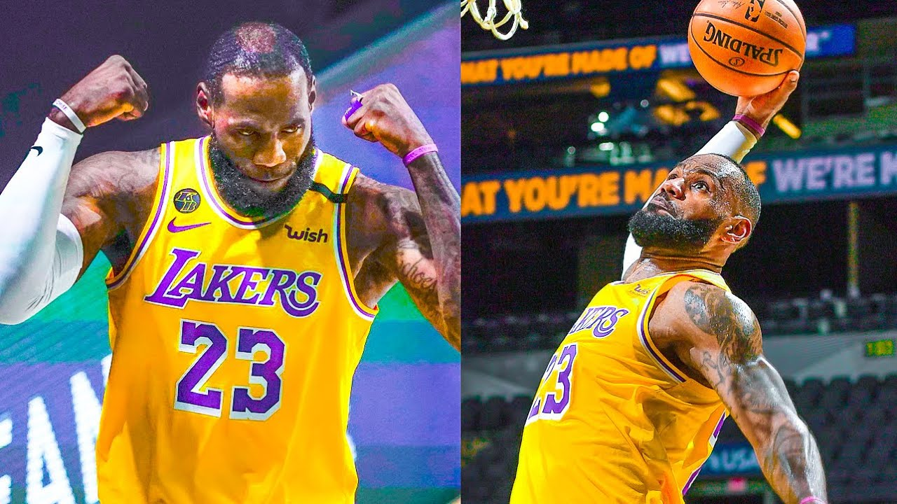 "NBA ""King James 2021 👑"" MOMENTS"