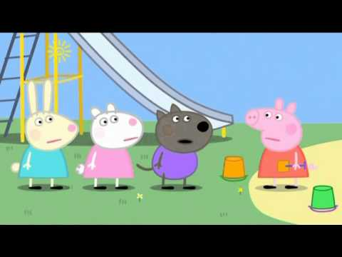 Peppa Pig - Digging up the Road