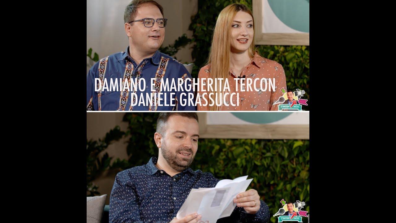 Intervista a Damiano e Margherita Tercon e Daniele Grassucci | T'InterVisco Andrea Visconti