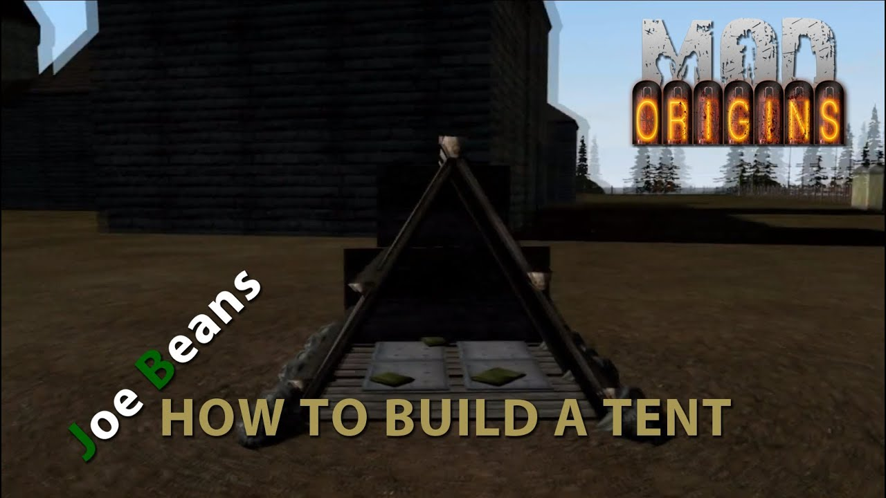 Tent in dayz origins launcher