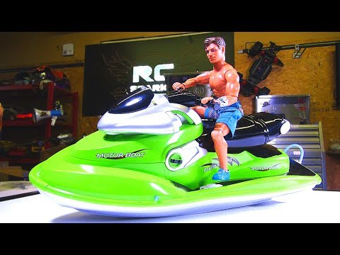 1/6 Scale Brushless RC Jet Ski / Sea Doo / Wave Runner - Custom Build -  Up to 4s LiPo! Unboxing
