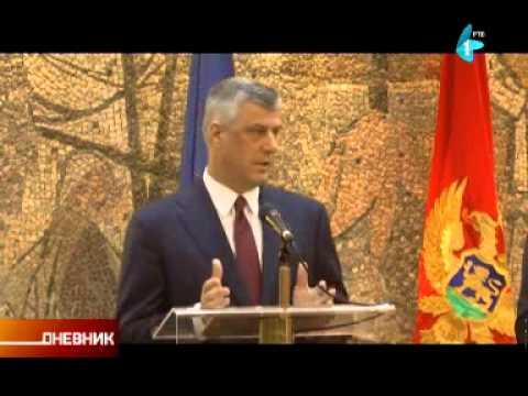 Podgorica: Protest zbog dolaska Tačija