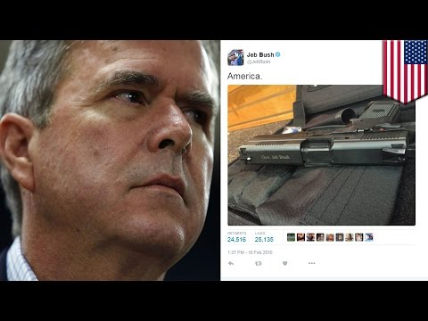 0 jeb bush's gun tweet backfires on him in epic fashion worldnews