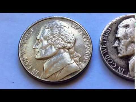 Rare 2000 D Jefferson Nickel Worth Money рідкісні Монети Редкие