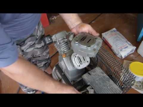 Ремонт воздушного компрессора поршневого своими руками видео