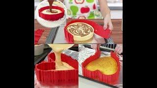 силиконовая форма торта  DIY Baking Tools Lovely Red Color Silicone Cake molds
