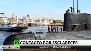 Suboficial de la Armada argentina revela que el ARA San Juan habría intentado comunicarse tres veces thumbnail