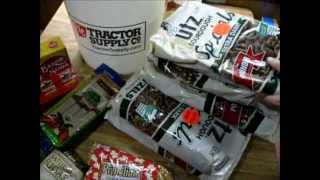 Stocking up - Preppers long term food storage in 5 gallon buckets