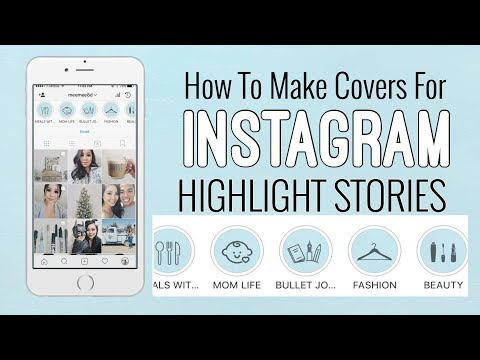 How To Make Highlight Covers | INSTAGRAM STORY HIGHLIGHTS