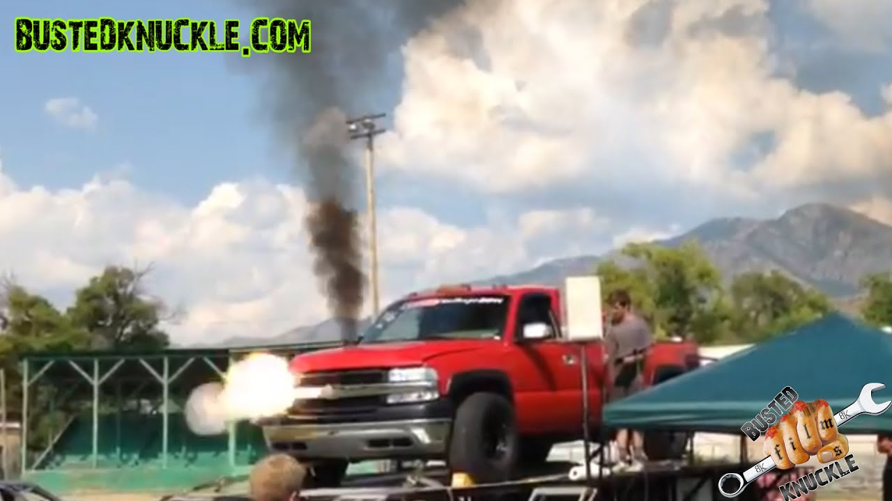 Performance Diesel Injection >> WORLD RECORD DURAMAX DIESEL DYNO EXPLOSION - YouTube