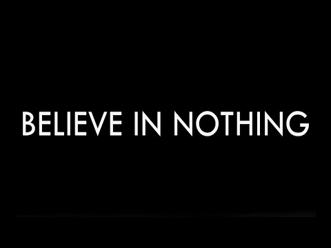 Slowly Growing Deaf - Believe In Nothing (Lyric Video) Ft. Jean-Marc Boulier