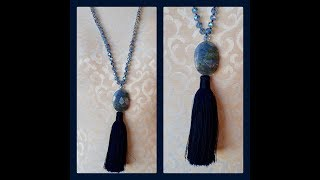 Knotted Tassel Necklace - Must Know Monday 3/19/18