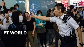 Hong Kong Protests Against Tourists  FT World
