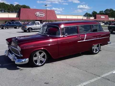 for sale 1955 chevy handyman station wagon youtube. Black Bedroom Furniture Sets. Home Design Ideas